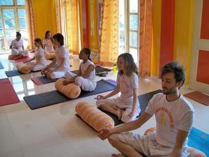 hatha yoga class india