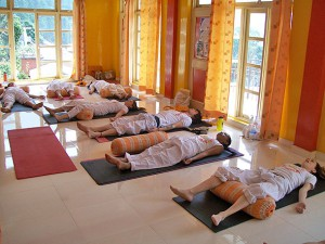 pranayam yoga class in india