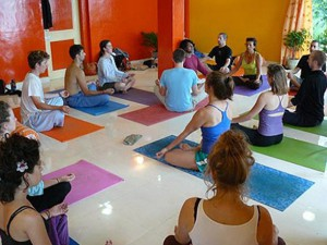 learn pranayama in india